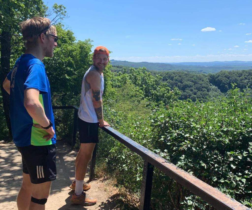 Niklas & Christian im Siebengebirge