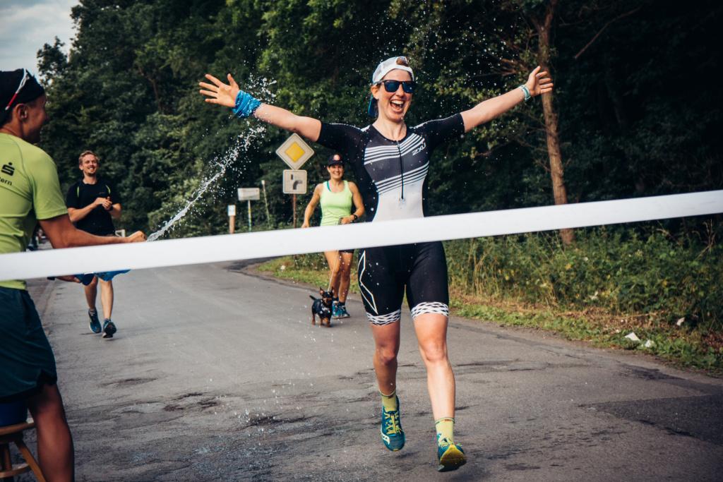Rebecca Itta beim Zieleinlauf