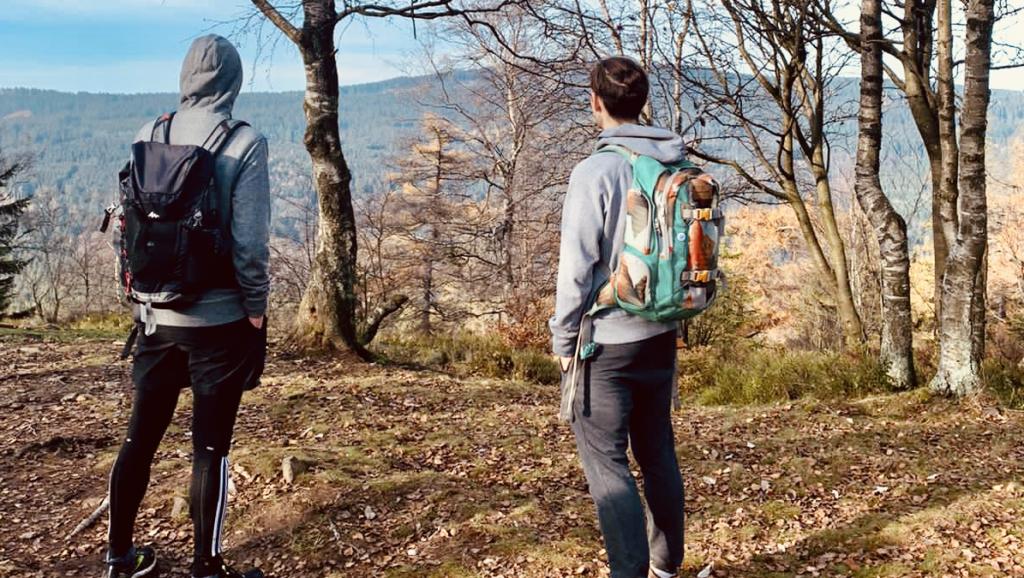 Niklas & Daniel am Altkönig